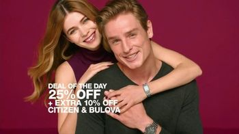 Macy's One Day Sale TV Spot, 'Fine Jewelry, Footwear and Watches'