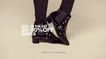 Macy's One Day Sale TV Spot, 'Fine Jewelry, Footwear and Watches' - Thumbnail 5