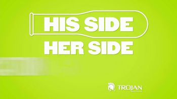 Trojan Ultra Ribbed Ecstacy TV Spot, 'Feels Like Nothing's There' - Thumbnail 6