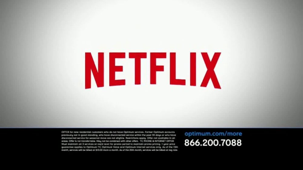Optimum Triple Play TV Commercial, 'We'll Pay for Netflix' - Video
