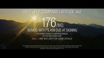 2017 Jeep Compass Latitude TV Spot, 'Traffic Jam' [T2] - Thumbnail 6