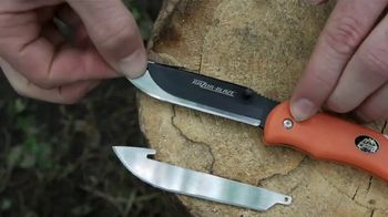 Outdoor Edge TV Spot, 'Change Your Blade, Not Your Knife'