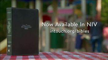In Touch Ministries Life Principles Bible TV Spot, 'To Us from God' - Thumbnail 9