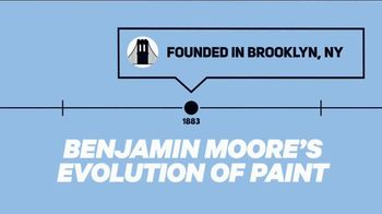 Benjamin Moore TV Spot, 'Discovery Channel: Evolution of Paint' - Thumbnail 2
