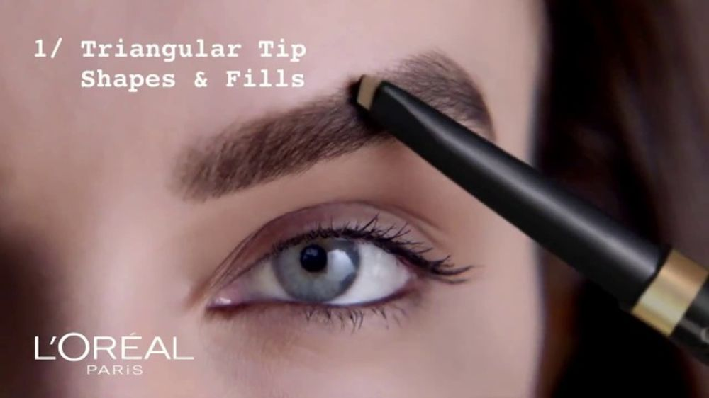 Loreal Paris Brow Stylist Shape Fill Pencil Tv Commercial