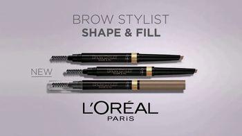 L'Oreal Paris Brow Stylist Shape & Fill Pencil TV Spot, 'Express Yourself' - Thumbnail 8