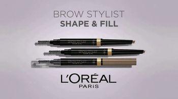 L'Oreal Paris Brow Stylist Shape & Fill Pencil TV Spot, 'Express Yourself' - Thumbnail 3