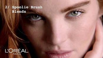L'Oreal Paris Brow Stylist Shape & Fill Pencil TV Spot, 'Express Yourself' - Thumbnail 6