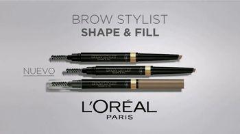 L'Oreal Paris Brow Stylist Shape & Fill TV Spot, 'Exprésate' [Spanish] - Thumbnail 9