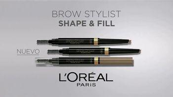 L'Oreal Paris Brow Stylist Shape & Fill TV Spot, 'Exprésate' [Spanish] - Thumbnail 3