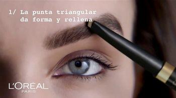 L'Oreal Paris Brow Stylist Shape & Fill TV Spot, 'Exprésate' [Spanish] - Thumbnail 5