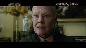 Victoria & Abdul - 2148 commercial airings