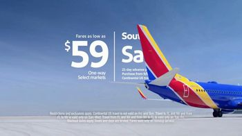 Southwest Airlines Sale TV Spot, 'Heads or Tails' - Thumbnail 8