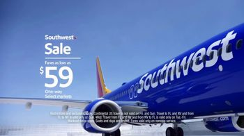 Southwest Airlines Sale TV Spot, 'Scream' - Thumbnail 5
