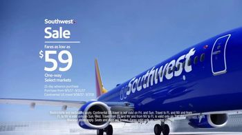 Southwest Airlines Sale TV Spot, 'Scream' - Thumbnail 7