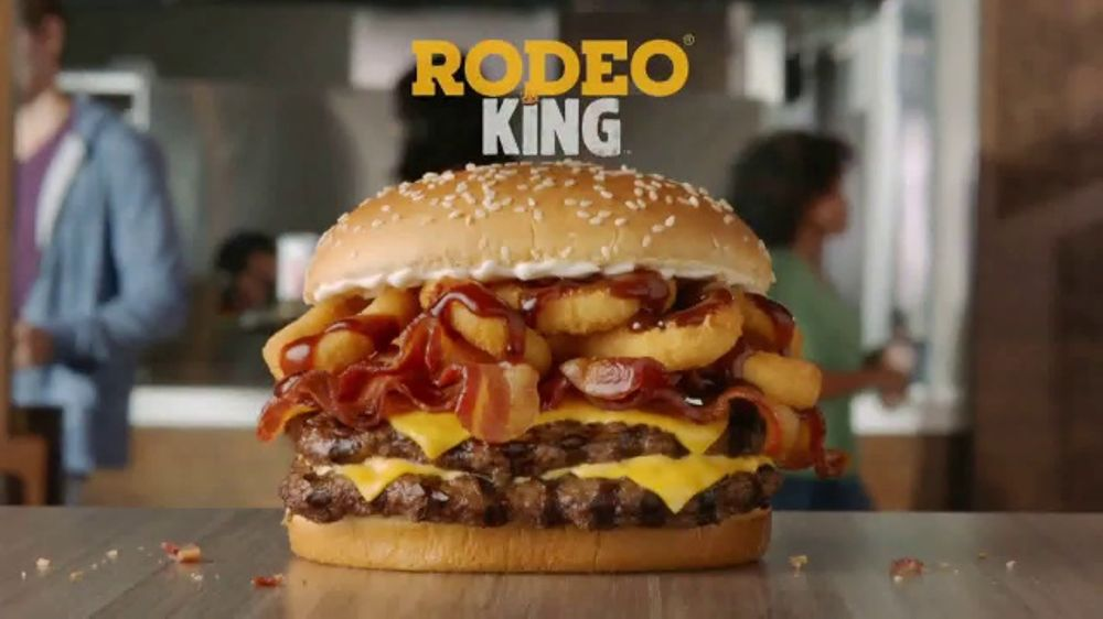 Burger King Rodeo TV Commercial Two Hands