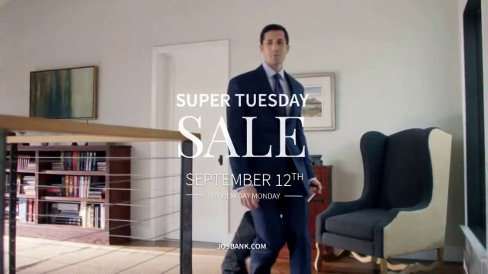 JoS. A. Bank Super Tuesday Sale TV Commercial, 'Any Occassion'
