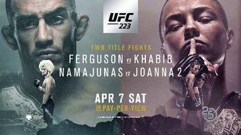 UFC 223 TV Spot, 'Ferguson vs. Khabib: Constant Punishment' - Thumbnail 10