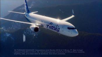 Alaska Airlines TV Spot, 'OTRC Sweepstakes: Star Treatment' - Thumbnail 6