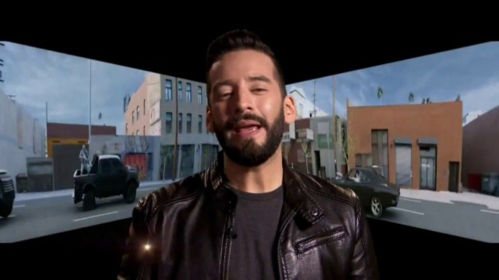 Fast & Furious Supercharged TV Commercial, 'Telemundo: Drop-In' Featuring Francisco C??ceres