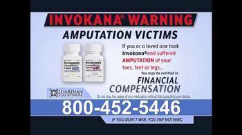 Guardian Legal Network TV Spot, 'Invokana Warning' - Thumbnail 1