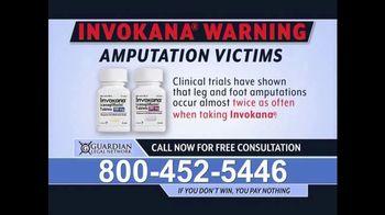 Guardian Legal Network TV Spot, 'Invokana Warning' - Thumbnail 2