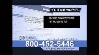 Guardian Legal Network TV Spot, 'Invokana Warning' - Thumbnail 4