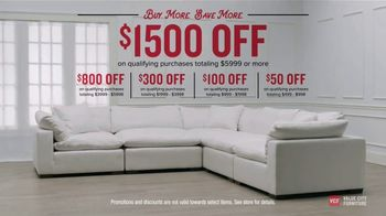 Value City Furniture TV Spot, 'Buy More, Save More: Storewide' - Thumbnail 7