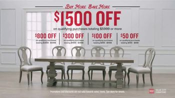 Value City Furniture TV Spot, 'Buy More, Save More: Storewide' - Thumbnail 8