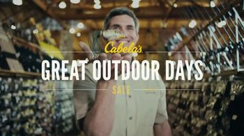 Cabela's Great Outdoor Days Sale TV Spot, 'Rods, Reels and Line' - Thumbnail 4
