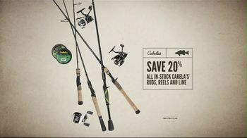 Cabela's Great Outdoor Days Sale TV Spot, 'Rods, Reels and Line' - Thumbnail 5