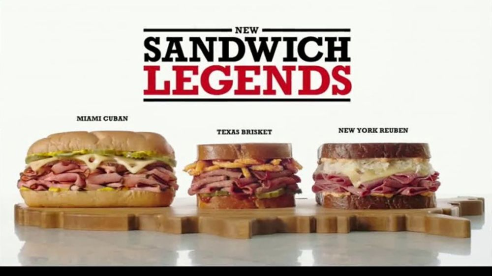 Arby's Sandwich Legends TV Commercial, 'Therapy Peacock'