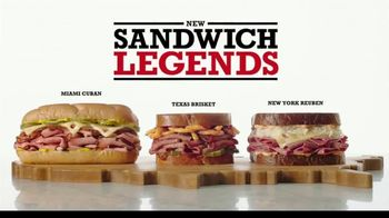 Arby's Sandwich Legends TV Spot, 'Therapy Peacock' - 2488 commercial airings