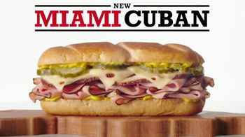 Arby's Miami Cuban TV Spot, 'Sandwich Legends: So Far South Cuban' - 1267 commercial airings
