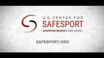 U.S. Center for SafeSport TV Spot, 'Olympic Athletes' - Thumbnail 9