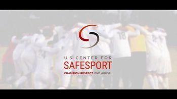 U.S. Center for SafeSport TV Spot, 'Olympic Athletes' - Thumbnail 3