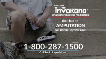 Robin Raynish Law TV Spot, 'Diabetes Medication'