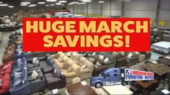 American Freight Huge March Savings Event TV Spot, 'Living Room Packages' - Thumbnail 2