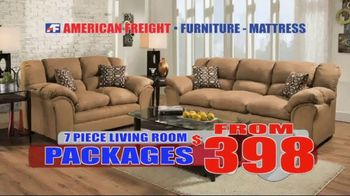American Freight Huge March Savings Event TV Spot, 'Living Room Packages'