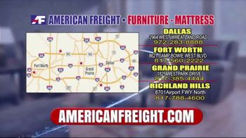American Freight Huge March Savings Event TV Spot, 'Living Room Packages' - Thumbnail 7