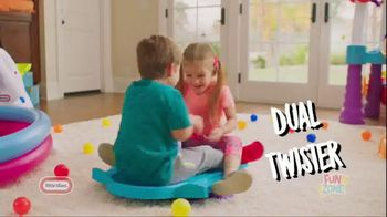 Little Tikes Fun Zone Dual Twister TV Spot, 'Spinning Fun' - 298 commercial airings