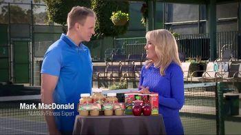 Musselman's TV Spot, 'Tennis Channel: Healthy' Feat. Tracy Austin - Thumbnail 4