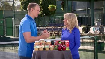 Musselman's TV Spot, 'Tennis Channel: Healthy' Feat. Tracy Austin - 18 commercial airings