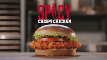Burger King 2 for $6 Mix or Match TV Spot, 'Spicy Crispy Chicken' - Thumbnail 6