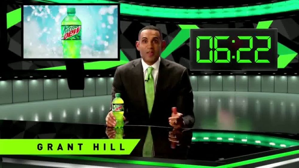 Mountain Dew Nation Rewards TV Commercial, 'Beat the Buzzer' Feat. Grant Hill