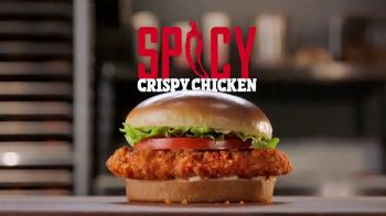 Burger King Spicy Crispy Chicken TV Spot, \'Spice is On\'