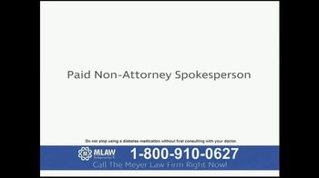 Meyer Law Firm TV Spot, 'Increased Risks of Amputations' - Thumbnail 1
