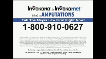 Meyer Law Firm TV Spot, 'Increased Risks of Amputations' - Thumbnail 9