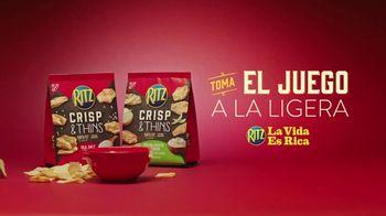 Ritz Crisp & Thins TV Spot, 'Mascota en vivo' [Spanish] - Thumbnail 10