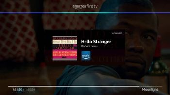 Amazon Fire TV TV Spot, 'Our Playlist: Moonlight' - Thumbnail 5